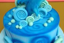 air brush cake
