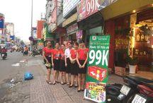 Hoạt náo cửa hàng 585 Hoàng Văn Thụ