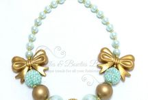 chunky beads necklace