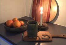 Ceramics and stoneware / Keramik og stentøj