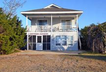 """Oak Island, NC - West Beach Rentals / The West Beach area of OI runs from Middleton Street westward to what locals refer to as """"The Point"""". It is easily accessible, provides sprawling sandy beaches and a tranquil escape from the crowds. http://www.rudd.com/rentals/categories/west-beach/ #WestBeach #OakIsland #NC #Rentals #WannaGetAway"""