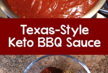 Keto   BBQ Sauces / Keto, Low Carb, BBQ, Sauces, Salad Dressing