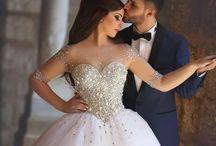 Like a wedding princess