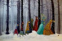39 Snow Painting