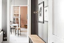 Hallway - Scandinavian design