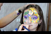 videos of face painting