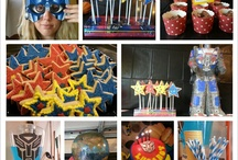 Samuel's Fourth / samuel's fourth birthday party....transformers