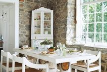 Come dine with me / These are the dining rooms, tablescapes, dreams are made in...these are the places and settings I would love to dine at and share with any of my family and friends.. / by Debbi Burnie