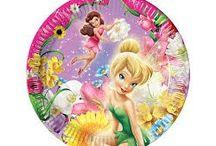 Fairies / Fairies  Party supplies for Fairies party théme