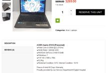 Cheap Laptop for Sales / Cheap, used laptop for sale, including refurbished macbook air