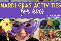 Mardi Gras crafts
