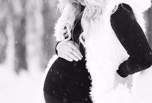 Baby /gravid foto