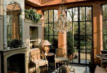 Garden and sunrooms