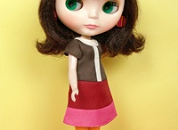 blythe and friends / cool dolls and handcrafted friends