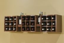 Wall Hanging Wine Racks / Best Wall Hanging Wine Racks for your Home. / by Billies Finds