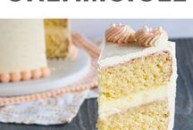 Creamsicle orange cake