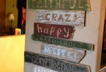 wall signs / by Jodi Trussell