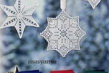 Новогодние выпуски журналов( вязание, вышивка)