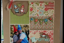 Stampin' Up! Scrappin' Ideas / Stampin' Up! Scrapbook Layouts Ideas