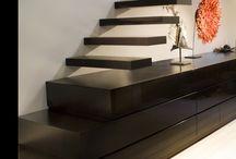 abajo escalera