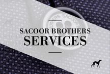 Sacoor Brothers Services / All the services you can find at a Sacoor Brothers boutique