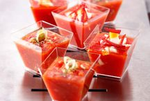 SOUPES FROIDES & GASPACHO