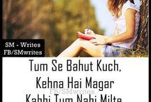 Heart feels quotes & shayari