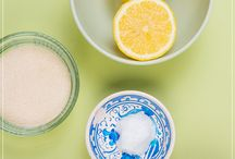 DIY natural remedies / Home made body products
