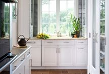 kitchen cabinets / by Lela Lesson