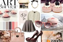 Concept Boards - Fashion & Lifestyle