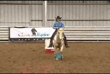 Barrel racing training / by Star Bound Horses and Western Gifts