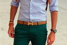 Slacks - green
