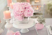 pink/grey/white & sparkles