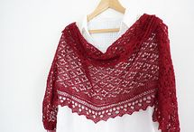 knitting / cushions, dishcloths