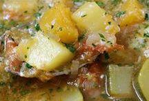 sopas y cremas de verdyras o legumbres.