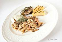 Food  / Alcuni dei meravigliosi e deliziosi piatti serviti nei ristoranti di CastelBrando...