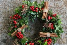 Special offers / A MeadowSweet Christmas wreath for sale
