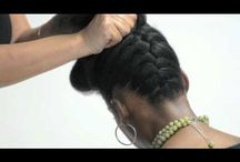 Natural Hair Tutorials