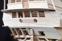 Model maak van een boot