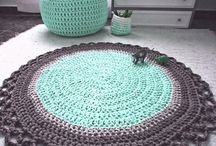 Crochet - floor rugs