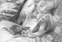 Grayscale Characters