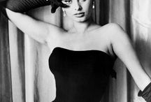 Black and White / Femmes Fatales, good old time movie stars, classics, icons and other pics in shades of grey