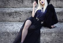 Gothic Dress and Makeup Envy