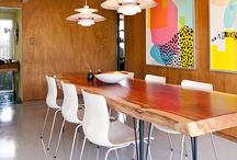 Tables, tableware and diningrooms