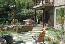 Water saving  / Landscape application and plantings to save water