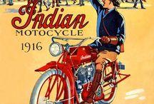 vintage motorcycle publicity