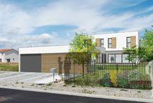 Maison individuelle Saint Priest / Etudes et dépôt de permis de construire pour une maison individuelle en R+1 à Saint Priest