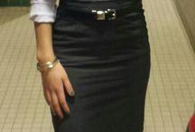 faldas / faldas rectas