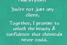 Hairstylist Quotes!