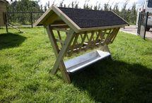 Hooiruif / Dierenverblijf, hooibergen alles maken wij van hout op maat. www.vanviegen.com